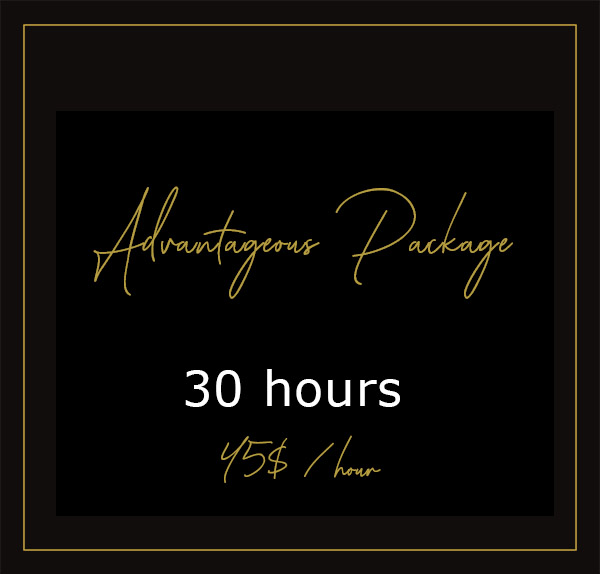 Advantageous package - 30H00
