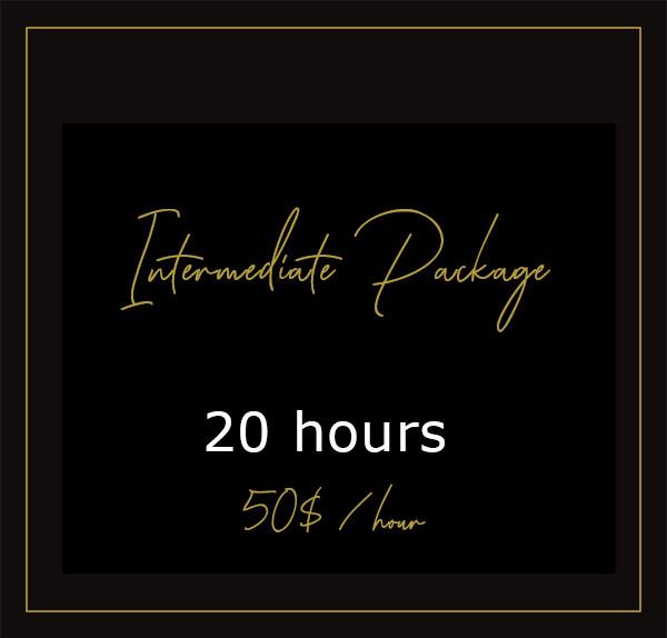 Intermediate package - 20H00